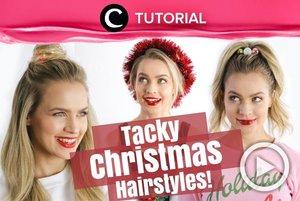 If what you want for Christmas is fresh look and cute hairstyle, follow this tutorial: http://bit.ly/2RMCzNa. Video ini di-share kembali oleh Clozetter @ranialda. Lihat juga tutorial lainnya di Tutorial Section.