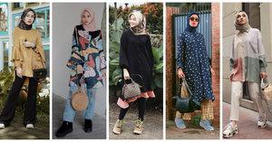 Sopan Sekaligus Modis, Contek Sederet Gaya Selebgram Hijab Mengenakan Tunik
