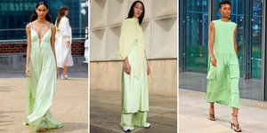 Lime Is Taking Over the Spring 2020 Runways