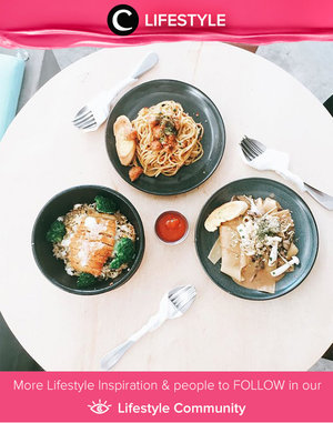 Life is combination of magic and pasta. Simak Lifestyle Updates ala clozetters lainnya hari ini di Lifestyle Section. Image shared by Clozetter @vannysariz. Yuk, share momen favorit kamu bersama Clozette.