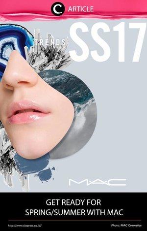 Pada tanggal 28 Februari lalu, Clozette Crew menghadiri presentasi dari MAC Spring/Summer 2017. MAC ingin para perempuan berani untuk tampil lebih natural. Seperti apa sih 4 tren makeup dari MAC untuk musim ini? Baca selengkapnya di http://bit.ly/2nG4Lji. Simak juga artikel menarik lainnya di Article Section pada Clozette App.