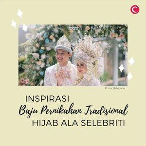 Menggunakan baju pernikahan dengan budaya tradisional terkadang membutuhkan sedikit trik untuk para pengguna hijab. Seperti contohnya saat menggunakan paes di baju adat Jawa. Bagi para bride to be, bisa contek beberapa inspirasi baju pernikahan dari beberapa selebriti berikut, nih. . 📷 @citraciki @cutratumeyriska @adhityaputri @dindahw @tantrinamirah #ClozetteID #ClozetteIDVideo #BajuAdat #PernikahanTradisional #BajuPengantinTradisional