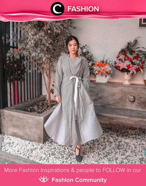 Midweek mood: Clozetter @megayunita in super comfy dress from Slovv. Simak Fashion Update ala clozetters lainnya hari ini di Fashion Community. Yuk, share outfit favorit kamu bersama Clozette.