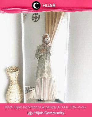 Family event OOTD inspiration from Clozetter @regitakurniavi! Simak inspirasi gaya Hijab dari para Clozetters hari ini di Hijab Community. Yuk, share juga gaya hijab andalan kamu.