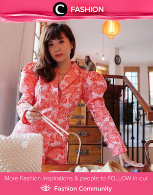 Clozette Ambassador @steviiewong looks extravagant in Pomelo dress, showing her excitement for CNY tomorrow! Are you as excited as us? Simak Fashion Update ala clozetters lainnya hari ini di Fashion Community. Yuk, share outfit favorit kamu bersama Clozette.