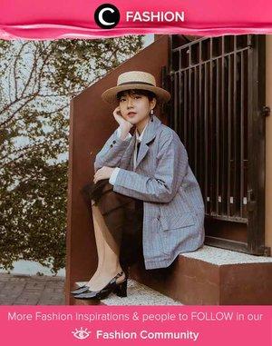 Clozetter @itachenn forever in vintage mood. Simak Fashion Update ala clozetters lainnya hari ini di Fashion Community. Yuk, share outfit favorit kamu bersama Clozette.