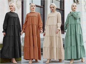 2021 Trendy Modest Maxi Dresses - Hijab Fashion Inspiration