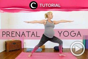 Isi masa kehamilanmu dengan kegiatan positif. Salah satunya dengan melakukan prenatal yoga berikut: http://bit.ly/2NrxRCd. Video ini di-share kembali oleh Clozetter @ranialda. Kamu juga bisa intip berbagai tutorial lainnya hanya di Tutorial Section.