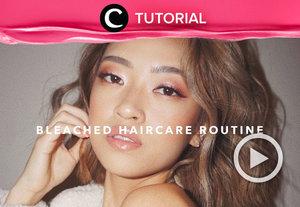 Hayo, siapa di sini yang mengalami masalah rambut kering dan rusak usai diwarnai? Yuk, coba atasi dengan haircare routine seperti yang di share oleh Clozetter @dintjess berikut ini: https://bit.ly/3hYYhbi.  Lihat juga tutorial lainnya yang ada di Tutorial Section.