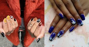 Harry Potter Nail Art Ideas Beauty Wizards Will Want to DIY