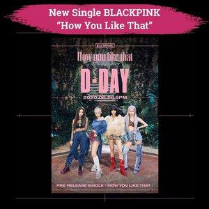 "Finally! Blackpink merilis new single  berjudul ""How You Like That"". Girlband yang beranggotakan Jisoo, Jennie, Rose dan Lisa siap menyapa penggemarnya di seluruh dunia. Clozetters yang mau nonton teaser nya bisa swipe right, ya. Full MV nya akan tayang pukul 18.00 KST atau 16.00 WIB. Pantengin terus instagram-nya @blackpink_official✨-📷@blackpink_official #Clozetteid"