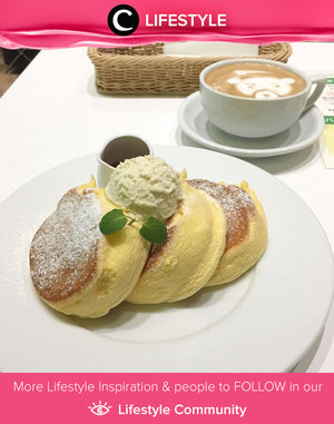 Insta-famous dishes in Tokyo: A Happy Pancake's fluffy pancake! Yumm! Simak Lifestyle Updates ala clozetters lainnya hari ini di Lifestyle Community. Image shared by Clozetter @edwinahidayat. Yuk, share juga momen favoritmu.