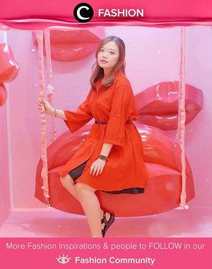 Dare to wear red likie Clozetter @Jessicaalicias? Simak Fashion Update ala clozetters lainnya hari ini di Fashion Community. Yuk, share outfit favorit kamu bersama Clozette.