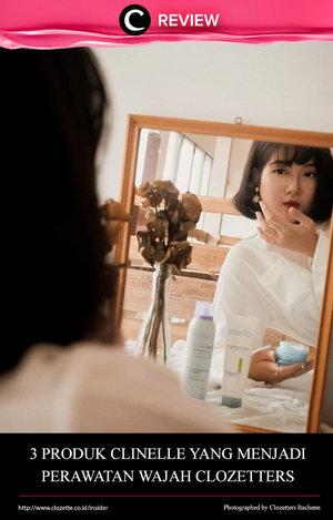 Beberapa Clozetters menyambut tahun 2020 dengan memulai perawatan wajah pada malam hari dengan 3 produk Clinelle. Yuk, intip review-nya di: http://bit.ly/30b15df. Sudah mencoba salah satunya? Share juga pendapatmu di kolom komentar, ya!
