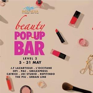 """I have enough make up"" -said no women ever.  Presenting #PIBeautyWeek featuring Beauty Talk, Beauty Masterclass, Beauty Workshop, Beauty Fair, Beauty Fun Battle, Make Up & Hair Trend to Meet & Greet with Influencers and Bloggers.  #plazaindonesia #beauty #beautyinspiration #ClozetteID"