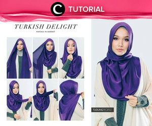 Berpenampilan seperti wanita Turki bisa kamu wujudkan dengan gaya hijab seperti pada tutorial berikut ini http://bit.ly/29IdoGZ. Video ini di-share kembali oleh Clozetter: @aquagurl. Cek Tutorial Updates lainnya pada Tutorial Section.