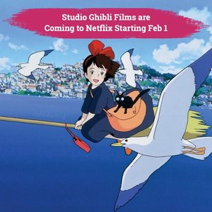 February is going to be soooo awesome because Netflix bring 21 Studio Ghibli Films starting February 1st!✨✨.📷 @netflixid @ghibli.movies#ClozetteID #ClozetteXCoolJapan #ClozetteIDCoolJapan