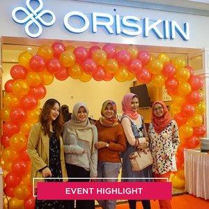 Earlier today we're attending the grand opening of Oriskin Bintaro. Congratulations @oriskin_id for the 30th store✨ #ClozetteID
