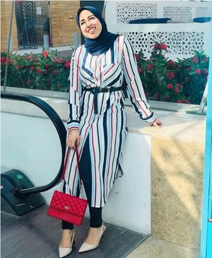 Colorful hijabi outfit ideas for summer – Just Trendy Girls