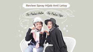 Pejuang ojek online, ada magic spray yang bisa bikin hijab lebih keliatan rapi! Supaya hasilnya lebih valid, kali ini @dillafdiah dan @astrityas beneran tes pakai helm, lho. Gimana hasilnya cek yuk videonya di YouTube Clozette Indonesia http://bit.ly/SyanaHijabSpray (link di bio).Psst, jangan lupa ikutan giveaway dengan hadiah Arra Lip Matte & Blink Charm Eyelashes senilai 200.000 rupiah untuk masing-masing 5 orang pemenang! Cek info giveaway di description box video YouTube ya..#ClozetteID #CIDYouTube #Giveaway #SyanaHijabSpray #hijabspray #racuntiktok #racunshopee #racuntokped #viraltiktok #tiktok