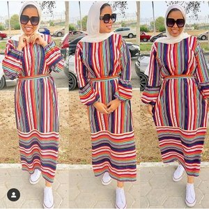 Colorful hijab outfits for weekends     Just Trendy Girls