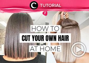 Sebelum memutuskan untuk memotong rambut sendiri, pastikan dulu kamu telah menghetahui cara memotong rambut yang baik dan benar, Clozetters. Klik di sini untuk tahu tips dan triknya: https://bit.ly/3gv2AZZ. Video ini di-share kembali oleh Clozetter @kyriaa. Lihat juga tutorial lainnya yang ada di Tutorial Section.