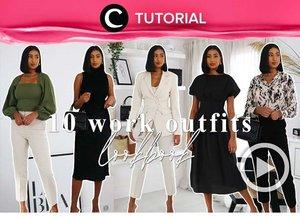 Ingin tampil fashionable saat kembali WFO nanti? Yuk, intip 10 inspirasi office look berikut ini: https://bit.ly/3AEWb8E. Video ini di-share kembali oleh Clozetter @zahirazahra. Lihat juga tutorial lainnya di Tutorial Section.