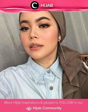 Turban style ala Clozetter @lylasabine. Simak inspirasi gaya Hijab dari para Clozetters hari ini di Hijab Community. Yuk, share juga gaya hijab andalan kamu.