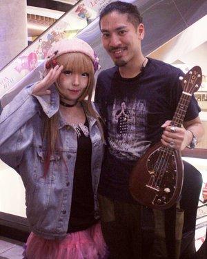 #backstage With @hiroakikato39.................. ......#OOTD #makeupoftheday #fashion #singer #musician #music #instrument #jpop #モデル#メイク#ヘアアレンジ#オシャレ#メイク#makeup #instagram #style #kawaii#ファッション#コーディ#ガール #clozetteID #かわいい #可愛い