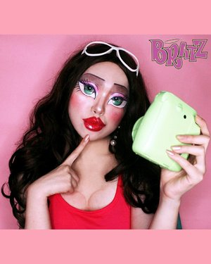 Girls just wanna have fun, yeah 💖...#Bratz #bratzgirl#featuremuas #undiscovered_muas #crazymakeups #100daysofmakeup #amazingmakeupart #mua_army #feature_my_stuff #halloween #muasfeaturing #undertheradar_makeup #dupemag #clozetteid #facepainting #bodypainting #Makeup #BeautyBloggerIndonesia #style #Blogger #fashion #メイク #ヘアアレンジ  #style #girl #beauty #kawaii #ファッション #かわいい