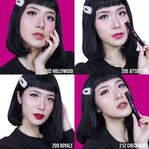 Hi MiLuvs,Ada good news buat kamu! More colors from @makeoverid Cliquemate Lip Stylo! Make Over baru aja launching 4 shades terbaru mereka, yaitu: Checkmatte, Hotshot, Royale, and Truffles. So yes, it's 12 colors now!.Suka banget sama produk ini karena super comfortable walaupun hasilnya matte. Soalnya dia non-drying matte karena ada kandungan vitamin E & airy smooth formula. Also it glides smoothly even on my dry lips. Selain itu produk ini tidak menonjolkan garis2 bibir malah kelihatan jadi lebih halus 😍Longlasting juga, bahkan tetap bagus setelah makan besar.My favorite colors are Hollywood & Royale. Kalau warna favorit kamu yang mana nih?.@makeoverid#LipsOnClick #MakeOverID..........#ivgbeauty #indobeautygram #makeuptutorial #wakeupandmakeup #undiscovered_muas  @tampilcantik #tampilcantik #ClozetteID #tutorialmakeup #ragamkecantikan @ragam_kecantikan #inspirasicantikmu @zonamakeup.id @makeup.tutorial.asian #indovidgram @indovidgram