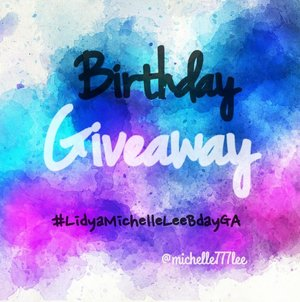 Hi, welcome to my 1st Birthday Giveaway 🙋💕 . Aku memulai journey sebagai beauty content creator di bulan Februari 2017. Sejak saat itu aku menetapkan untuk serius menggeluti bidang beauty. Di bulan Februari ini adalah tepat 1 tahun aku menjadi beauty content creator 😊 . Of course selama journey ini aku ngga akan semangat tanpa adanya support dari kalian. Ada saat2 di mana aku berpikir untuk berhenti aja but your support keeps me going 🙆🙏 . That's why I create this GA as my gratitude for you and to celebrate my birthday as well 😁🎂👏 . I know I'm far beyond perfect, but please stay by my side & walk with me as we grow and become better together ❤❤❤ #LidyaMichelleLeeBdayGA . . Xoxo, MICHELLE 😘 . . . . . #beauty #instamakeup #makeup #makeupartist #mua #makeups #beautyenthusiast #beautyblogger #beautyvlogger #beautyinfluencer #makeupaddict #makeupjunkie #beautyjunkie #indobeautyblogger #indobeautyvlogger #beautybloggerindonesia #endorse #endorser #endorsement #endorsements #endorsementid #endorseindo #endorseindonesia #giveaway