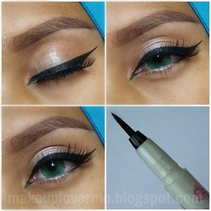 @purbasari_indonesia punya eyeliner pen lhoo, baru tau? Sama dong saya juga.. Penasaran nggak sih? Cek reviewnya di sini yuk http://makeuploverme.blogspot.co.id/2016/01/review-purbasari-eyeliner-pen.html atau klik link yang ada di profil IG aja yaa.. #eyelinerpen #purbasarieyelinerpen #purbasari #eotd #eyeliner #EOTD #anastasiabeverlyhills #pinkperception #dressyourface #makeupbyan #pangandaran #MuaPangandaran #vegas_nay #maya_mia_y #mayamiamakeup #dressyourface #lookamillion #maryammaquillage #hudabeauty #neztheartist #zukreat #clozetteID #makeup #beauty #landofmakeup #theamazingworldofj #makeupbychristiaa #makeupwithammy #rfadai #wakeupandmakeup #universodamaquiagem_oficial #hudabeauty