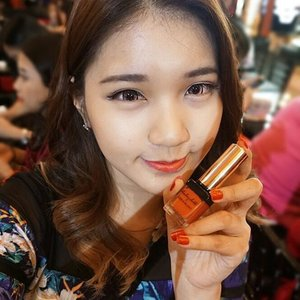 #throwback to @yslbeauteid #aKissToRemember last week~ on my lips was YSL Kiss and Blush #4 💋 I thought it was more to coral but turned out it was more orange.anyway, the event report is now up on #NatashaJSdotcom or you can got to bit.ly/akisstoremember 😊..#NatashaJS #NatashaJSreport #NatashaJSFOTD #NatashaJSMOTD  #VioletBrush #clozetteid #fotd #motd #makeup #beautyblogger #bblogger #YSLbeauty #YSLGoogleGlass #뷰티블로거