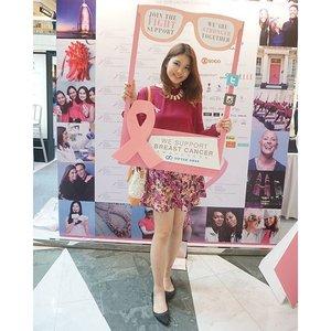 @optikseis also joins the campaign! #optikseisfightbreastcancer 💟 . . #NatashaJS #NatashaJSOOTD #VioletBrush #clozetteid