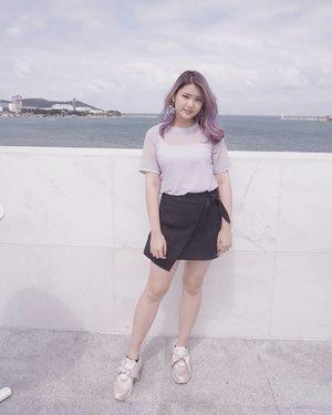 What hair color do you think suits me the most? 💜💙💚💖 . . #NatashaJS #NatashaJSOOTD #VioletBrush . . . . . . . . . . . . . . @ootdindo @ootdmagazine @lookbookindonesia @lookbook @ootd @clozetteid #clozetteid #ootd #ootdindo #lookbook #lookbookindo #fashion #blogger #wiwt #look #vlog #indonesianvlogger #summer #ggrep #likes #vlogger #패션 #블로거 #셀스타그램 #코디 #일광 #부산 #여름