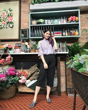 @thegarden_id is surely instagrammable! P.S. I'm not ready to come back to reality 🙃 . . #NatashaJSOOTD . . . . . . . . . . . #purpleootd #ootdgals #ootdindo #naturalbeauty #cleanbeauty #clozetteid #wiwt #ggrep #styled #styleinspo #fashiongram #cafe #cafestagram #셀스타그램 #패션 #스타일 #코디룩 #뷰티 #인생샷 #좋아요
