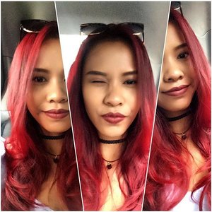 Red hair don't care ❤🔥🔥🔥🔥❤ I love my long res hair, this hair is everything 💋❤ #indonesiayoutuber #muaindonesia #muajakarta #blogger #indonesiabeautyblogger #fdblogger #indonesianlivinginbangkok #starclozetter #clozetteid #hair #redhair #redhairdontcare