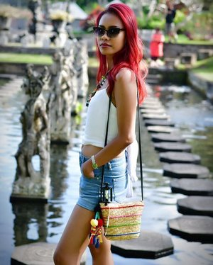 There will be haters, doubters, and NON-Believers.. then There will be YOU proving them wrong ❤️🍷😎 . . . #clozetteid #starclozetter #indonesianlivinginbangkok #photography #holiday #bali #tirtagangga #wonderfulindonesia #positivevibes #redhairdontcare #instaholiday #travel #traveler #travelgram #indonesia #indonesian #bosslady #seeyouontop #bebrave #positive #dontlistentohaters