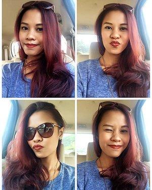 Happy weekend everyone ❤️ #redhair #blogger #fblogger #indonesianlivinginbangkok #beautyblogger #travelblogger #starclozetter #clozetteid #jakarta #indonesia #indonesianblogger