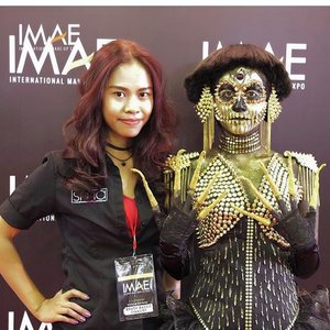 What a journey to create an art from a makeup... last Sunday I'm joining International Makeup Expo 2017 at Jakarta-Indonesia.  Expect nothing but promise to give my best, and yes 3rd place for Glamour Special FX makeup category. ❤️💋💄 . . Thank you everyone for supporting me, thanks to @imaeofficial for giving us a chance to shape our skills. Lets make this Brush battle event bigger n better ❤️ . . Thank you for the best makeup school on earth 😍 @smainternational  for always supporting me! See how far I go after just 10months graduated from the school and have ZERO experiences with fantasy makeup 😂💪🏻🙈💄😍❤️ . . BIG thanks for @makeuphilde for always (its really always) giving her time to guide me in between her crazy hectic life and makes me believe to my self. ❤️💋 . . . For me the achievement that I got this far is to show to my self that I'm in the right track, nothing comes easy but its not impossible to reach ❤️💋😍😘💄💪🏻🙏🏻🦄 . . . #imaeofficial #IMAE2017 #imaethebrushbattle #starclozetter #clozetteid #indonesianlivinginbangkok #amazingmakeupart #smainternational #makeup #makeupfreak #makeupartist #fantasymakeup #dreambig #like4follow #like4like #indonesia #instamakeup #crazymakeup