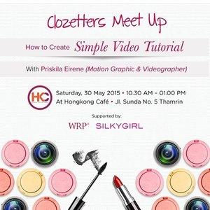 Meetup lagi di event @clozetteid yukyuk @markutitut @ndahrahayu @monicamanik 😆 Jangan lupa follow IG @WRPDIET_OFFICIAL dan @SILKYGIRL_ID yaa! See you later love!😘 #ClozetteID #ClozetterMeetup
