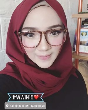 InsyaAllah see you there ❤️ .....#ayuindriativideos #wwim15 #hijab #hijabstyle #hijabfashion #exploretangerang #clozette #clozetteid #ayuindriati