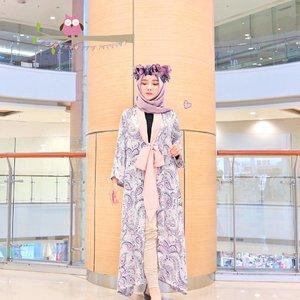 👾 Long Kimono Outer by-- @haideeorlin 👾 ...#OOTDayuindriati #clozetteid http://instagram.com/ayuindriati