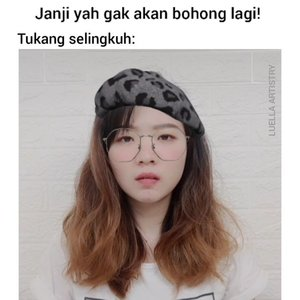 Gemeesh deh sama si tukang janjiiii palsuuu... Tag temen kalian yang pernah jadi korban janji palsu atau malah temen kalian yang suka boong 😂😂 #luellajustforfun  . . 🎶 @tante_moji . . #luellaartistry #cchannelfellas #memes #ClozetteID #tiktokindonesia