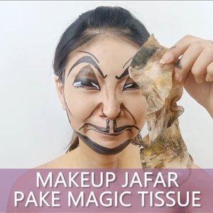 Video Jafar nya pake Magic Tissue aja yak! Gak ada tutorial.. Pusing ama encok berkutat sama makeup.. Gak kepikiran buat bikin tutorial nya wkwkwkwk.. . But hope you enjoying it!!! Magic tissue inspired @janineintansari . Final look bisa kalian liat juga di post sebelum ini ❤ . . . @cchannel_id @cchannel_beauty_id @bunnyneedsmakeup  @ragam_kecantikan @zonamakeup.id  @tampilcantik  @indobeautygram  @100daysofmakeup @inspirasi_cantikmu @tips__kecantikan @indovidgram . . . . . . . . #luellaartistry #luellamakeup #artsymakeup #luellaartistry #jafarmakeup #facepaintingideas #makeupjafar #disneymakeup #aladdinmakeup #jafarmakeupinspired #jafarfacepaint #colorfulmakeup #koreamakeup #clozzetebeauty #Clozetteid #beautyvlogger #beautybloggerindonesia #beautybloggerbandung #beautyvloggerbandung #bandungbeautyblogger #bandungbeautyvlogger