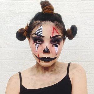 Well you can always be a clown.. #luellamakeup ...#luellaartistry #cchannelfellas #ClozetteID #clownmakeup #clowninspired