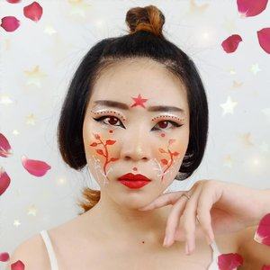 The Earth without art is just eh~ #luellamakeup .Hobi kalian #dirumahaja ngapain? Nemu hobi baru gak? 😝.Lens edited yah 👌Inspired @lou.von.bright ....#luellaartistry #cchannelfellas #ClozetteID #japanmakeup #geishamakeup #geisha