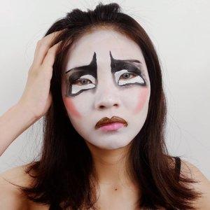 DAY 2 for #31daysofhalloween ..Inspired Pinterest.....#luellaartistry #luellamakeup #clozzetebeauty #clozetteid #makeupbarenginivindy #kipaart #halloween2019 #halloweenideas2019