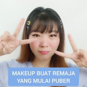 [ SAVE AND THANK ME LATER! ] Remaja yang udah mulai puber MERAPAT!  #luellatutorial ..Product detail@hadalaboid Face Mist@purbasarimakeupid Alas Bedak@sis2sis_indo BB Cream as Concealer@youmakeups_id Powder@sis2sis_indo Lip Cream as Blush On & Ombre Lips@viva.cosmetics Eyeshadow Cream@jacquelle_official @vinnagracia Essential Pen@makeupuccino Lashes - Kalla@tinyme.up @sorchacosmetic Share In Jar..🎶 Rindu Sendiri Cover by @eclatstoryofficial..#luellaartistry #cchannelfellas #ClozetteID #dailymakeup #makeupnatural #makeupremaja